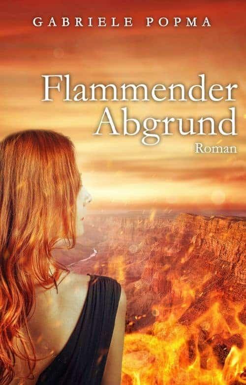 Buchcover zu Flammender Abgrund von Gabriele Popma - Genre: thriller, liebesromane
