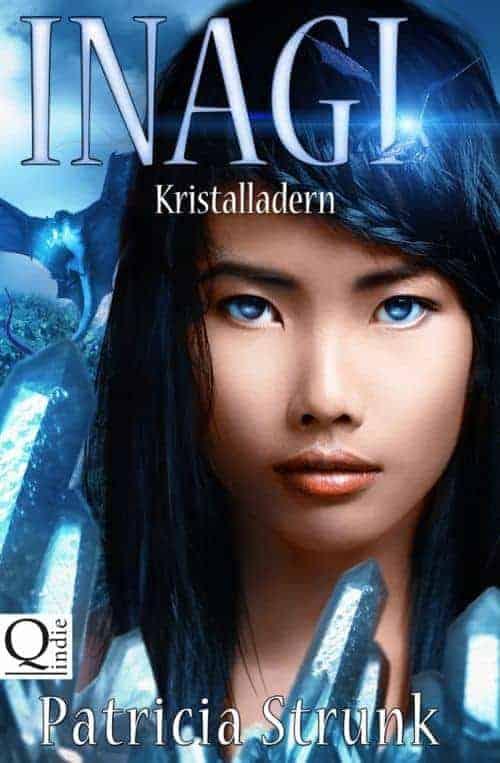 Buchcover zu Kristalladern (Inagi) von Patricia Strunk - Genre: jugendbuecher, fantasy