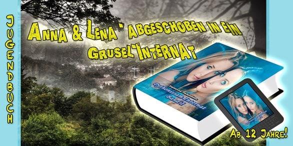 Werbebanner für Pythonissam Internat von Vanessa Tolentino
