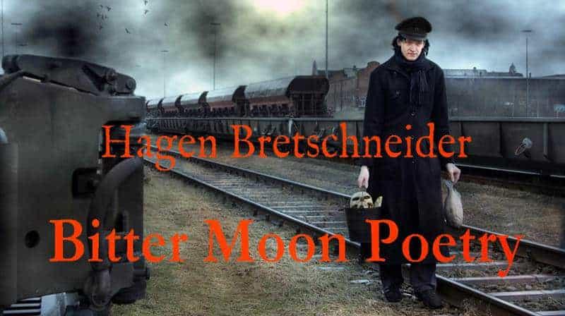 Werbebanner für Bitter Moon Poetry von Hagen Bretschneider