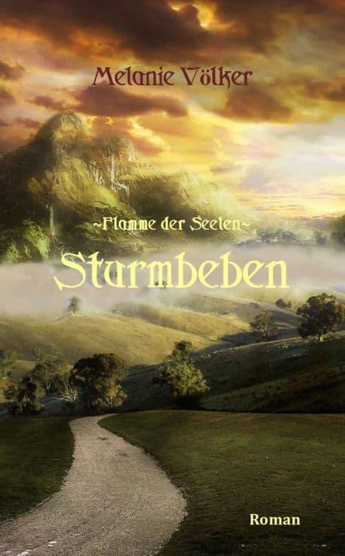 Buchcover zu Sturmbeben (Flamme der Seelen 2) von Melanie Völker - Genre: fantasy