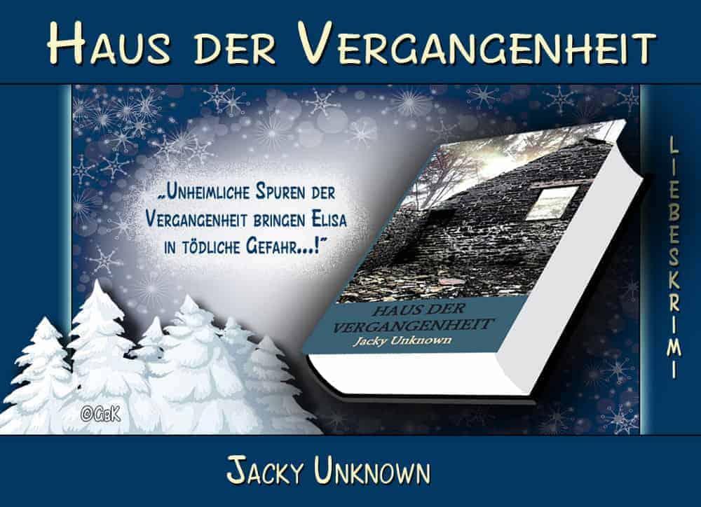 Werbebanner für Haus der Vergangenheit von Jacky Unknown