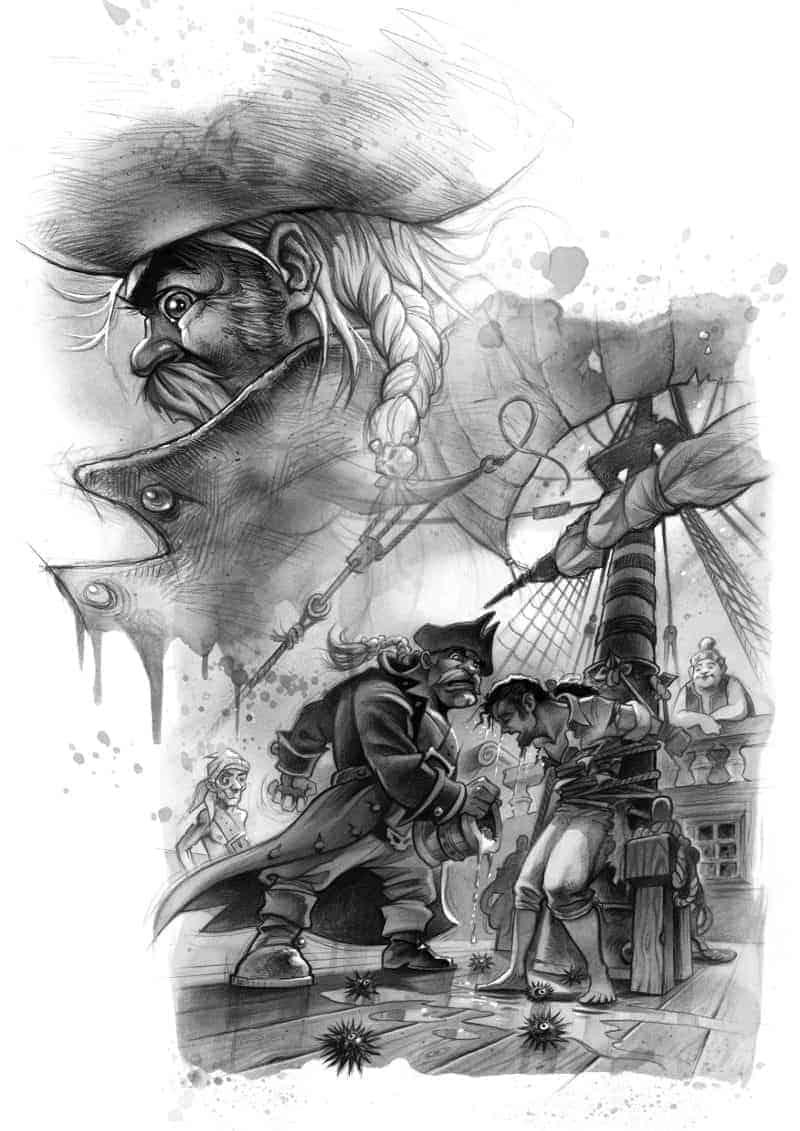 Werbebanner für Philipp – Pakt der Piraten: Teil 1 von Dirk Schaary