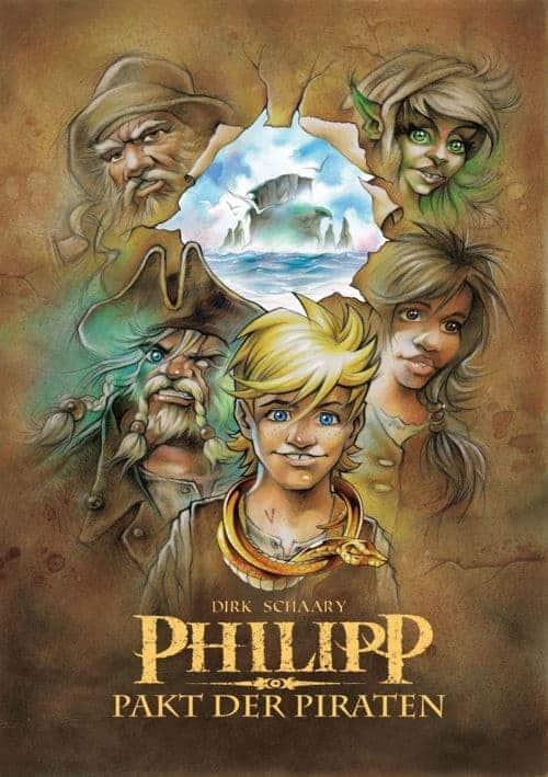 Buchcover zu Philipp - Pakt der Piraten: Teil 1 von Dirk Schaary - Genre: jugendbuecher, historische-romane, fantasy