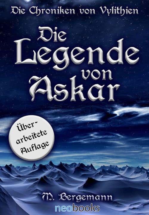 Buchcover zu Die Legende von Askar von Mike Bergemann - Genre: fantasy