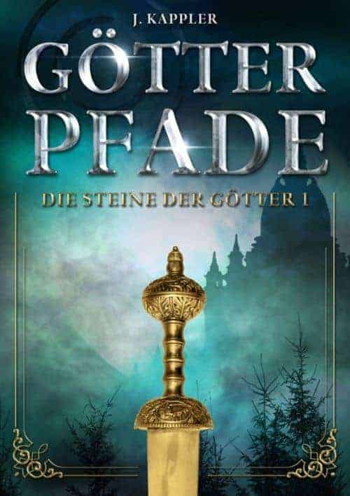 Buchcover zu Götterpfade von Julian Kappler - Genre: fantasy