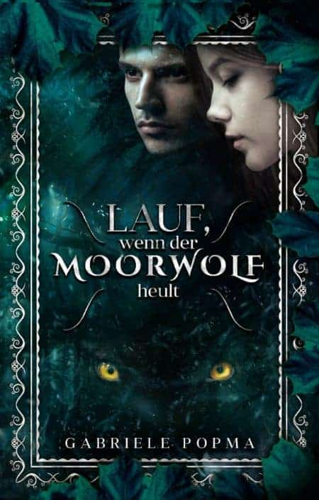 Buchcover zu Lauf, wenn der Moorwolf heult von Gabriele Popma - Genre: liebesromane, jugendbuecher