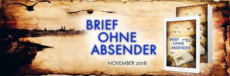 Werbebanner für Brief ohne Absender (Kripo Bodensee 9) von Janette John