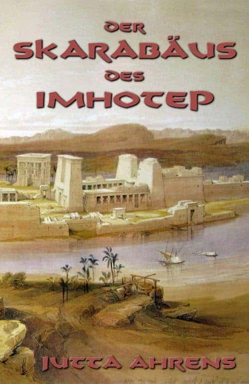 Buchcover zu Der Skarabäus des Imhotep von Jutta Ahrens - Genre: historische-romane