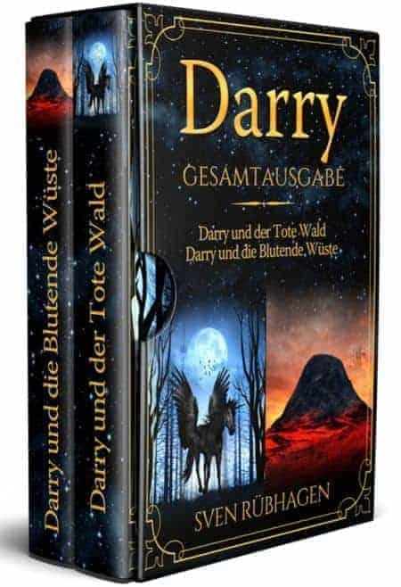 Buchcover zu Darry Gesamtausgabe von Sven Rübhagen - Genre: fantasy