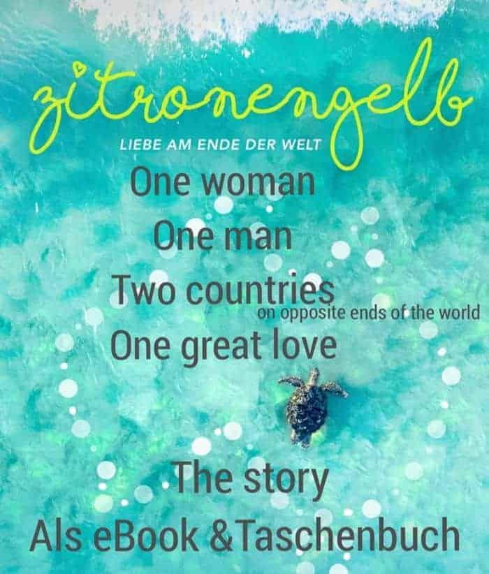 Werbebanner für Zitronengelb – Liebe am Ende der Welt von Stefanie Brunswick