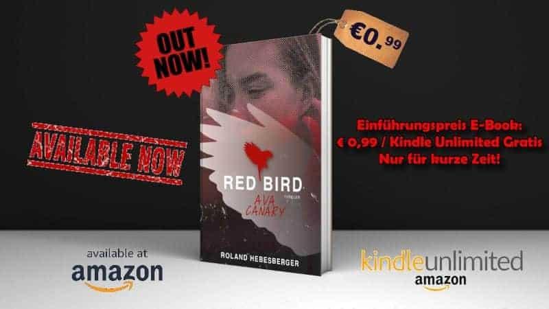 Werbebanner für Red Bird – Ava Canary von Roland Hebesberger