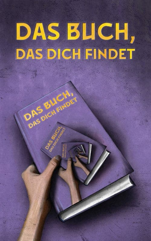Buchcover zu Das Buch, das dich findet von Siegfried Langer - Genre: fantasy