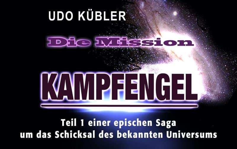 Werbebanner für Kampfengel: Die Mission von Udo Kübler