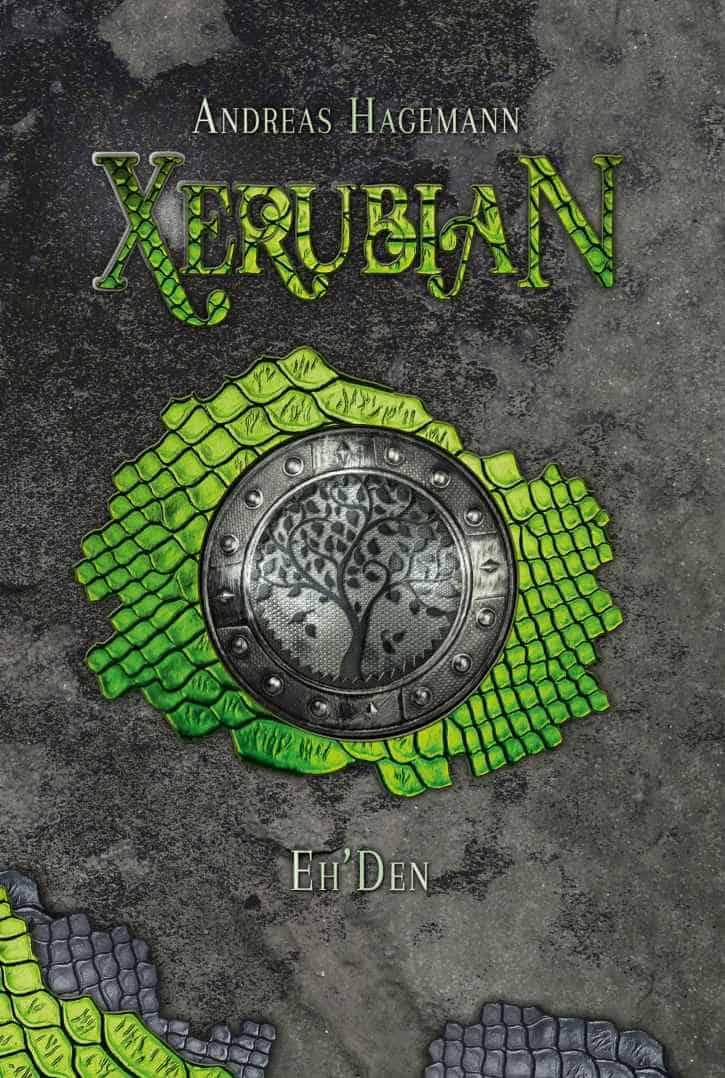 Buchcover zu Xerubian - Eh'Den von Andreas Hagemann - Genre: humor, fantasy