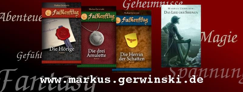 Werbebanner für Das Lied der Sirenen von Markus Gerwinski