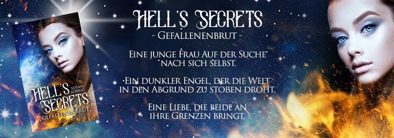 Werbebanner für Gefallenenbrut – Hell's Secrets 1 von Susan Sobrig