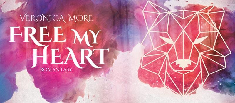 Werbebanner für Free my heart von Veronica More