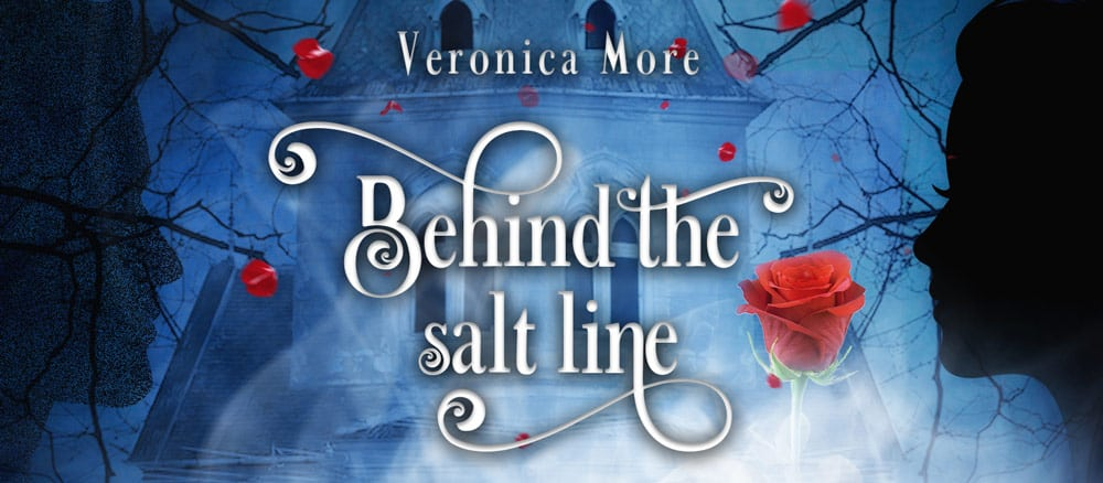 Werbebanner für Behind the salt line von Veronica More