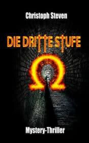 Buchcover zu Die dritte Stufe: Die Verschwörung von Omega von Christoph Steven - Genre: thriller